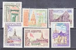 LAOS  60-65  *  HISTORICAL  MONUMENTS  TEMPLES - Laos