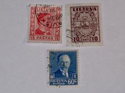 LITUANIE  1934-36  LOT #1 - Lituanie