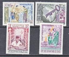 LAOS  56-9   **    BUDDHIST  EDUCATION  &  FINE ARTS - Laos
