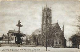 Eaton Square And St Peters Church - Dorchester - Boston MA - Boston