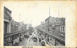 Manhattan - Bowery, New York NY - Carte Non Circulée - Manhattan