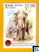 Sri Lanka Stamps 2013, Yala National Park, Elephant, Elephants, MNH - Sri Lanka (Ceylon) (1948-...)