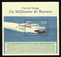 2000 - Ferry-boat Catamaran  «Sea Cat» -  Bloc-feuillet  ** - Togo (1960-...)