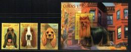 2001  Chiens - Timbres Et   Bloc-feuillet  ** - Togo (1960-...)