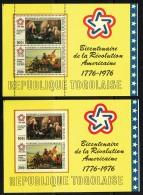 1976  Bicentenaire Des USA -   Bloc-feuillets Dentelé Et Non-dentelé  ** - Togo (1960-...)