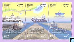 Egypt Stamps 2014, Suez Canal, MNH - Ägypten