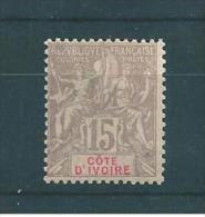 Colonie   Cote D´ivoire De 1900  N°15  Neuf * - Neufs