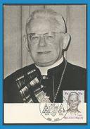 Belgique 1970 1558 CM Josef Cardijn Cardinal - Oblitération Liège Armoiries - Maximumkarten (MC)