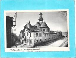 VILLEFRANCHE DE ROUERGUE - 12 -  Chapelle Des Pénitents Noirs - - ENCH - - Villefranche De Rouergue
