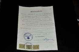 268- Geburtsurkunde Aus Hückeswagen - Historische Dokumente