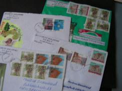 Polen Lot ,  4 Modern Covers Aprx, 2013 - Briefmarken