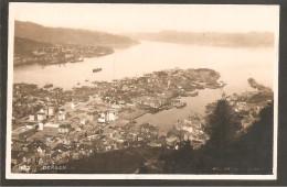 Bergen. Eye-vieuw 1929.Photocard Atelier K.K.Bergen-Franking F174 Abel - Norwegen