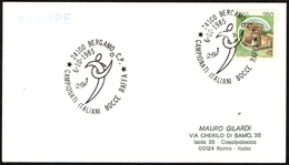 BOWLS - ITALIA BERGAMO 1985 - CAMPIONATI ITALIANI BOCCE RAFFA - CARD