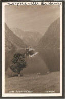 Gudvangen. MS Photocard K.Knudsen Bergen Edtion. Leopoldville. - Norwegen