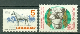 Uruguay 1971 Yv & T 810/811**, Mi 1211**, ... MNH - Uruguay