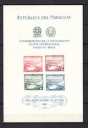 Paraguay 1961,4V In Block,IMP,bridges,bruggen,brücken,ponts,puentes,ponti,MNH/Postfris(L2880) - Ponts
