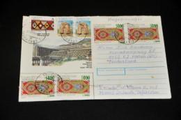 5- Envelope From Tadzikistan To Holland - Tadschikistan
