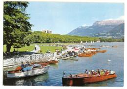 Annecy (74) La Baie D´albigny Et Le Paquier  ( Bateau - Vedette De Gendarmerie ) - Annecy
