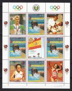 Paraguay 1989,8V In KB,Barcelona,,olympic,olympisch,olympische,olympique,olympicos,olimpici ,MNH/Postfris(L2882) - Zomer 1992: Barcelona