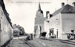 72, Circuit De La Sarthe, Traversée De  Lamnay - France