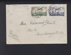 Lettre 1936 Par Avion Pour L'Autriche - Luftpost