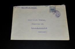 11- Envelope From Japan To Groningen Holland - Brieven En Documenten