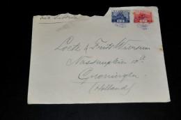 12- Envelope From Japan To Groningen Holland - 1926-89 Keizer Hirohito (Showa-tijdperk)
