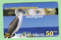 KAST TELECOM 50F *** N°45 *** Tirage ? *** (A102-P11) - France