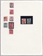 Grande Bretagne - Collection Vendue Page Par Page - Timbres Oblitérés/neufs * (avec Charnière) - Qualité B/TB - Servizio