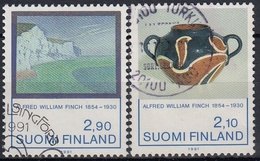FINLANDIA 1991 Nº 1112/13 USADO - Finlandia