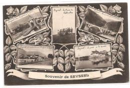§ PROMO § 74 - SEYSSEL Souvenir De Multivues écrite Timbrée - Seyssel
