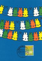 D27716 CARTE MAXIMUM CARD FD 2003 NETHERLANDS - PAPER GARLAND RABBIT CP ORIGINAL