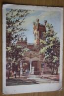 "Ukraine. Odessa. ""Arcadia"" Sanatorium. Old Postcard. 1957 - Stationery - Ukraine"