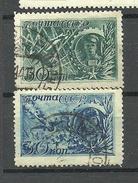 RUSSLAND RUSSIA 1943 Michel 860 & 863 War Heroes O - 1923-1991 URSS