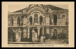 BOLAMA- BANCOS - Edificio Do Banco Nacional Ultramarino ( Ed. Broschek & Co.) Carte Postale - Guinea Bissau