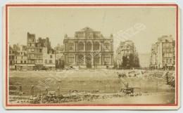 CDV 1860-70 A. Autin & A. Lacroix. Le Havre. Musée Des Beaux-Arts. Travaux Sur Les Quais. - Anciennes (Av. 1900)
