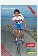 Claudio CHIAPPUCCI . 2 Scans. Cyclisme. Carrera Tassoni 1993 - Ciclismo