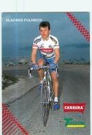 Vladimir PULNIKOV . 2 Scans. Cyclisme. Carrera Tassoni 1993 - Ciclismo