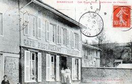 Cpa (51)  --  Binarville -- Cafe Roger Perot. Rendez-vous Des Chasseurs (boulangeris) - Otros Municipios