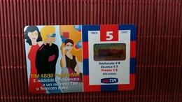 Prepaidcard Italia Used  2 Scans Rare - Italia