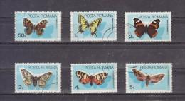 1985 -  FAUNE / PAPILLONS   MI No 4159/4164 Et Yv 3587/3592 - Usado