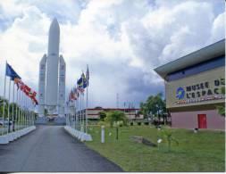 French Guiana - Guyanne Francaise - Kourou Centre Spacial Guyannais - Ariane Launchers & Space Museum - Spazio