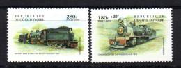 Serie Nº 1007/8 Cote D'ivore - Trenes