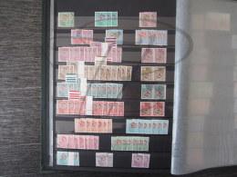 VEND STOCK DE TIMBRES PREOBLITERES DE FRANCE, NEUFS, COTE 1500 € , FACIALE + 290€ , VENDU - 45 % !!! - Collections
