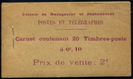Lot N°5641a Colonies Françaises Madagascar Carnet N°5 Neuf ** LUXE - Altri