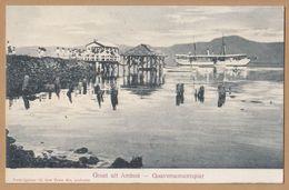 AMBON Gouvernementspier Oi8 - Postcards