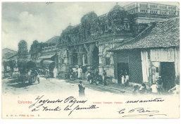 Cpa Sri Lanka / Ceylan - Colombo - Hindoo Tempel, Pettah ( Postée De Marseille Vers Champagnole ) - Sri Lanka (Ceylon)