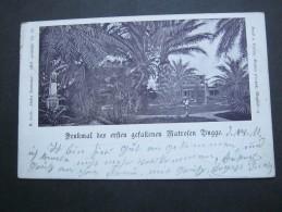1901 , Marineschiffpost  Nr. 22 , Seltene Karte Nach Deutschland - Kolonie: Kamerun