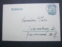 1912 , JAUNDE  , Klarer Stempel Auf Bedarfsganzsache - Kolonie: Kamerun
