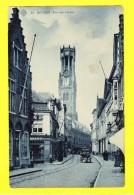 * Brugge - Bruges (West Vlaanderen) * (SBP, Nr 35) Rue Aux Laines, Bakery, Boulagerie, Belfroi, Animée, TOP, Unique - Brugge